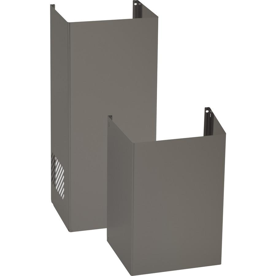 Ge Range Hood Flue Cover Wall Mounted Slate Jxdc72es