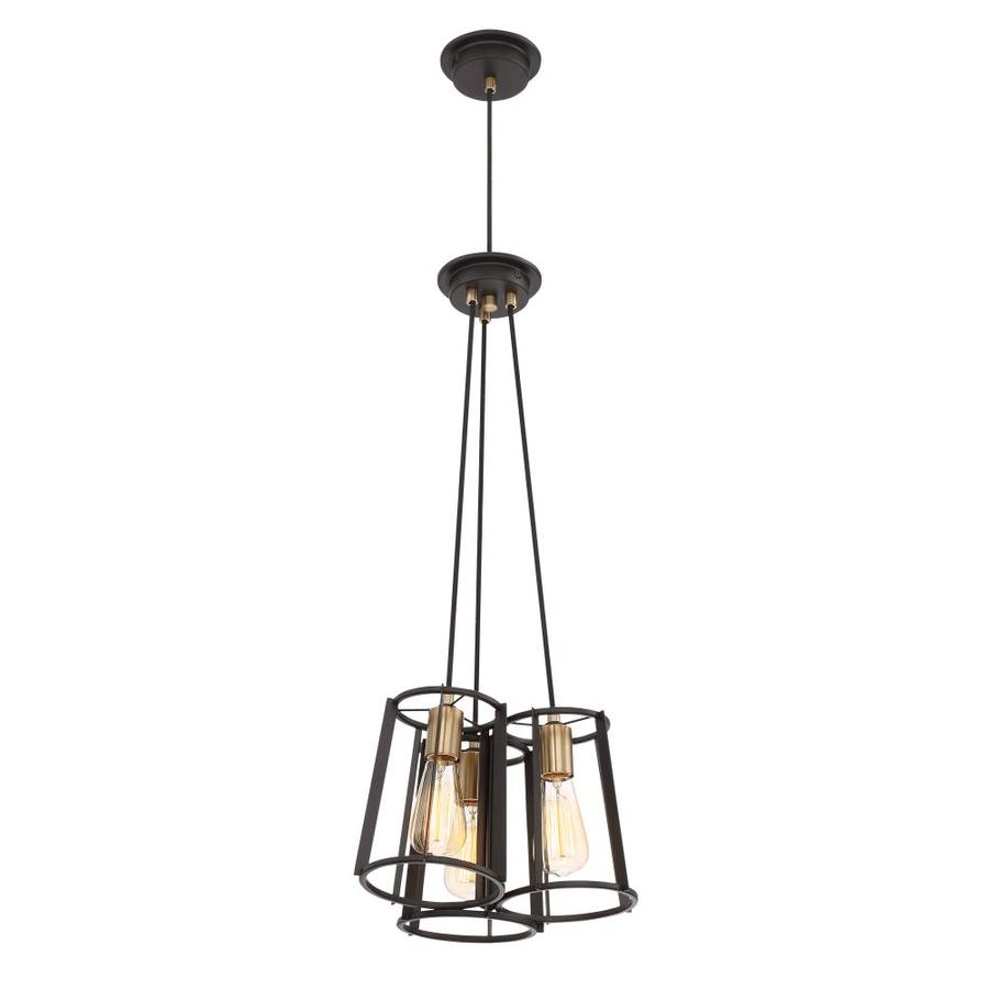 Light Fixtures Rochester Ny: Symmetry Bronze With Gold 14 X 31 Multi-Light Transitional