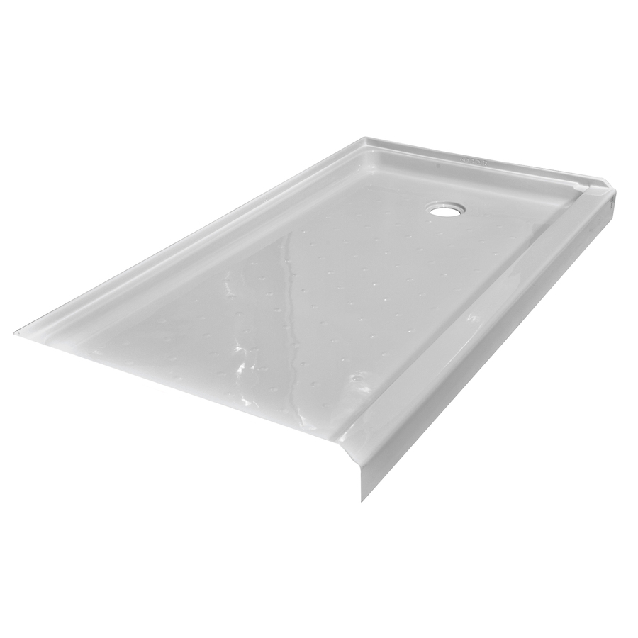 54 x 27 Shower Base Acrylic with Right Drain – white SLEB015427R