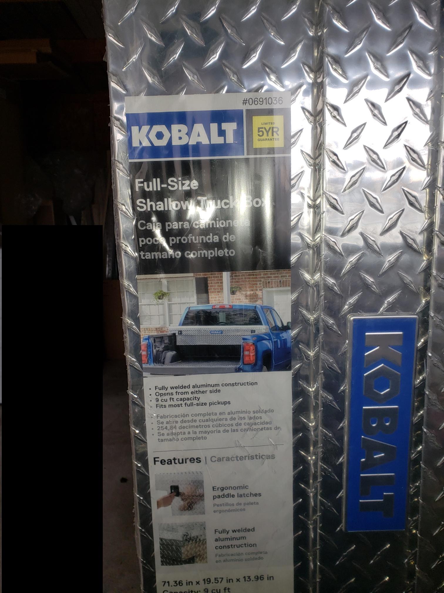 Kobalt 71 4 In X 19 6 In X 14 In Aluminum Top Mount